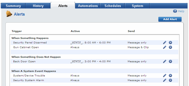 Setting up Text and Email Alerts with ADT Pulse