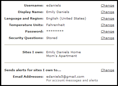 Setting up Text and Email Alerts Site Owner Profile