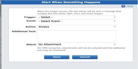 ADT Pulse Thermostat Add Alert