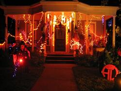 Halloween Safety Tips House