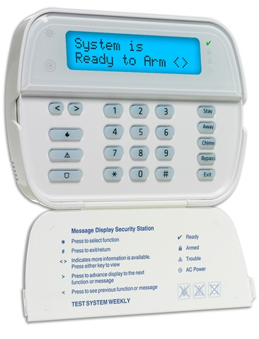 four ways to arm your adt home security system rh californiasecuritypro com AT&T Wireless Security System ADT Operators Manual