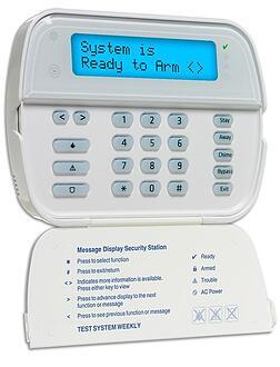 DSC Wireless Alpha Numeric Keypad