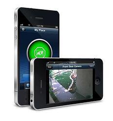 ADT Pulse iPhone with Front Door Camera View