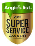 Alarms California Angie's List 2013 Super Service Award
