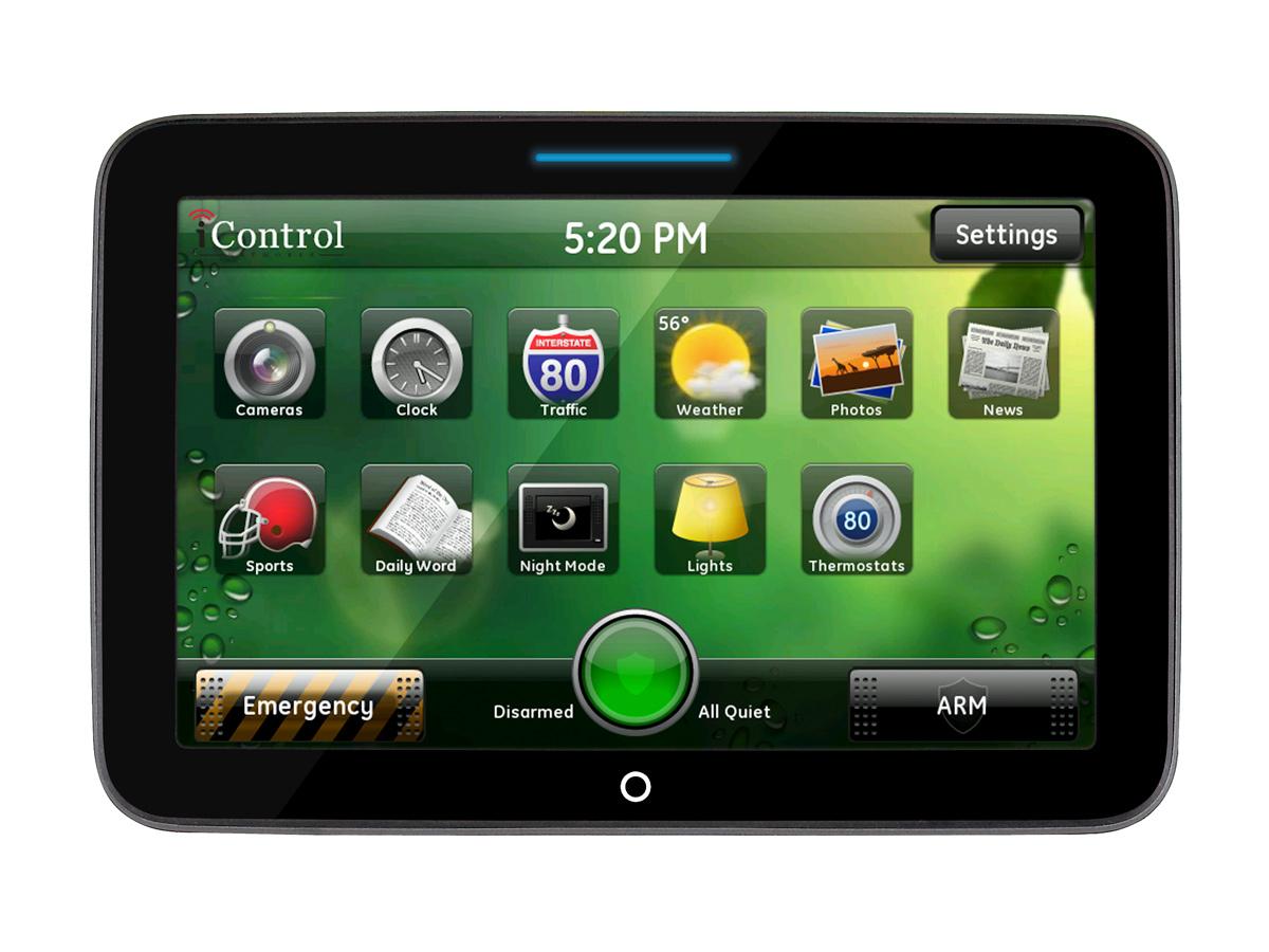 ADT Pulse Touchscreen Control Center