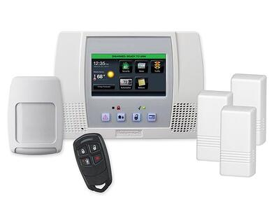 ADT wireless security system alarm