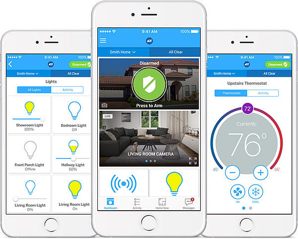 ADT Pulse App Remote Home Security Connected Home Automation