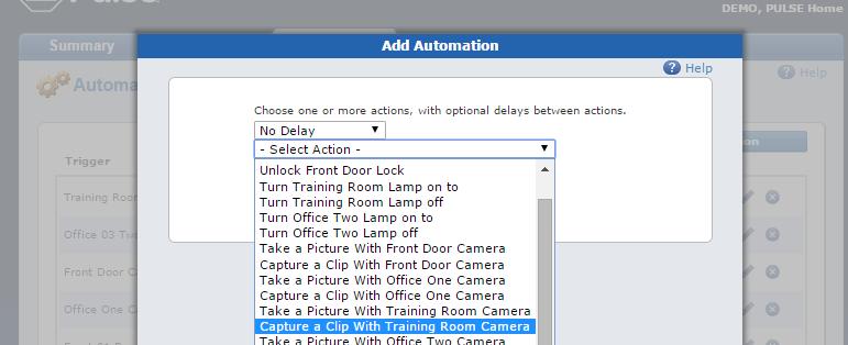 add Automations tab