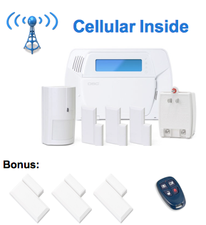 ADT Free Wireless Home Security System Equipment Package