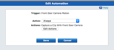 Setup Your ADT Pulse Cameras to Record Motion in Front of Security Camera