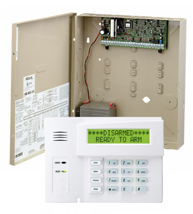 ADT Free Hard Wired Home Security System Package