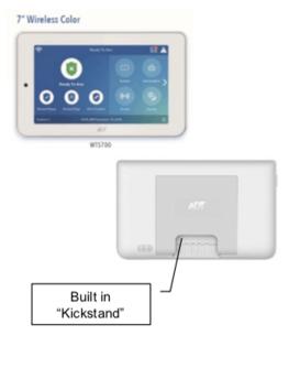 """ADT Command 7"""" Wireless Touchscreen Kickstand - WTS700"""