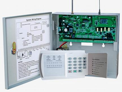 hardwired ADT security system alarm