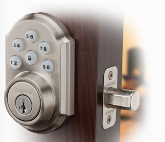 ADT Door Lock Deadbolt Keyless Entry Smart Lock
