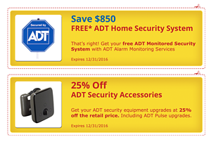 ADT Specials and ADT Coupon
